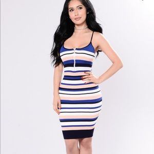 Fashion Nova Striped Dress